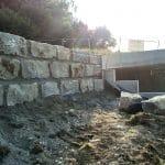 Terrassenmauer von HS Bau